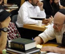 הספר היהודי היחיד שיחזיקו. צילום: פלאש 90