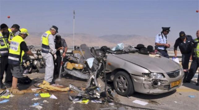 תאונת דרכים. סעו בזהירות! צילום: פלאש 90