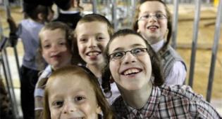 ילדים זה שמחה. אילוסטרציה. צילום: פלאש 90